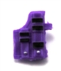 "Pistol Holster: Large Right Handed with Loop PURPLE Version - 1:18 Scale Modular MTF Accessory for 3-3/4"" Action Figures"
