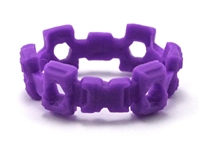 "Web Belt: PURPLE Version - 1:18 Scale Modular MTF Accessory for 3-3/4"" Action Figures"