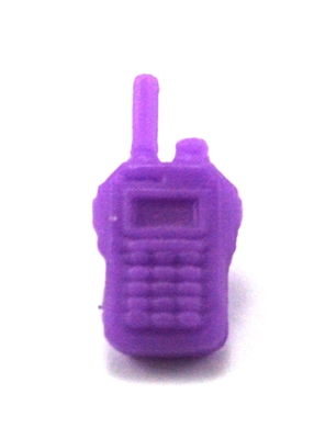 Radio Walkie Talkie: PURPLE Version - 1:18 Scale MTF Accessory for 3 3/4 Inch Action Figures