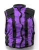 "Male Vest: Model 86 Type PURPLE & BLACK Version - 1:18 Scale Modular MTF Accessory for 3-3/4"" Action Figures"
