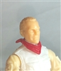 "Headgear: Standard Neck Scarf RED Version - 1:18 Scale Modular MTF Accessory for 3-3/4"" Action Figures"