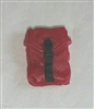 "Pocket: Large Size RED Version - 1:18 Scale Modular MTF Accessory for 3-3/4"" Action Figures"