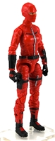 "MTF Female Valkyries with Balaclava Head RED ""Command-Ops"" Version BASIC - 1:18 Scale Marauder Task Force Action Figure"