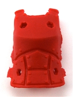 "Female Vest: Armor Type Red Version - 1:18 Scale Modular MTF Valkyries Accessory for 3-3/4"" Action Figures"