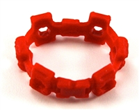 "Web Belt: RED Version - 1:18 Scale Modular MTF Accessory for 3-3/4"" Action Figures"