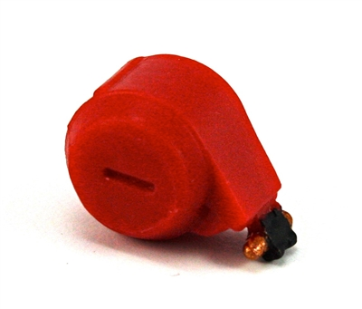 Steady-Cam Gun: Ammo Drum RED Version - 1:18 Scale Weapon Accessory for 3 3/4 Inch Action Figures