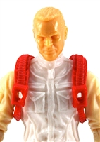 "Steady Cam Gun: Steady Cam Harness RED Version - 1:18 Scale Modular MTF Accessory for 3-3/4"" Action Figures"