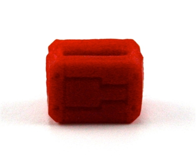 "MOUNT for Ammo Belt: RED Version - 1:18 Scale Modular MTF Accessory for 3-3/4"" Action Figures"