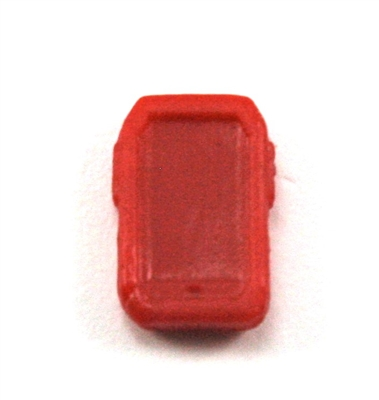 Smartphone / Mobile Phone: RED Version - 1:18 Scale MTF Accessory for 3 3/4 Inch Action Figures