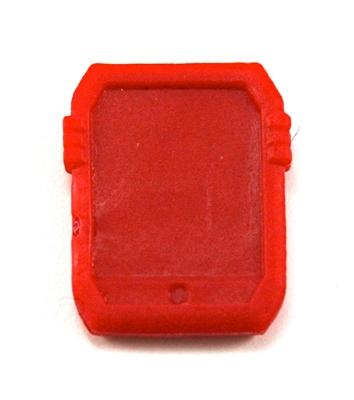 Smartpad / Computer Tablet: RED Version - 1:18 Scale MTF Accessory for 3 3/4 Inch Action Figures