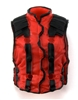 "Male Vest: Model 86 Type RED & BLACK Version - 1:18 Scale Modular MTF Accessory for 3-3/4"" Action Figures"