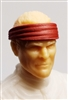 "Headgear: Headband RED Version - 1:18 Scale Modular MTF Accessory for 3-3/4"" Action Figures"