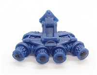 "Headgear: QUAD NVG Night Vision Goggles BLUE Version - 1:18 Scale Modular MTF Accessory for 3-3/4"" Action Figures"
