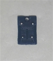 "Armor Panel: Large Size BLUE Version - 1:18 Scale Modular MTF Accessory for 3-3/4"" Action Figures"