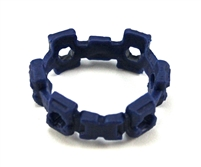 "Web Belt: BLUE Version - 1:18 Scale Modular MTF Accessory for 3-3/4"" Action Figures"