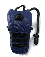 "Camel Hydration Pack: BLUE Version - 1:18 Scale Modular MTF Accessory for 3-3/4"" Action Figures"