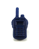 Radio Walkie Talkie: BLUE Version - 1:18 Scale MTF Accessory for 3 3/4 Inch Action Figures