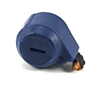 Steady-Cam Gun: Ammo Drum BLUE Version - 1:18 Scale Weapon Accessory for 3 3/4 Inch Action Figures