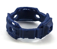"Steady Cam Gun: Steady Cam Support Belt BLUE Version - 1:18 Scale Modular MTF Accessory for 3-3/4"" Action Figures"