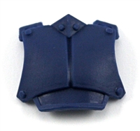 "Armor Chest Plate: BLUE Version - 1:18 Scale Modular MTF Accessory for 3-3/4"" Action Figures"