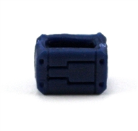 "MOUNT for Ammo Belt: BLUE Version - 1:18 Scale Modular MTF Accessory for 3-3/4"" Action Figures"