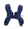 "Male Vest: Shoulder Rig BLUE Version - 1:18 Scale Modular MTF Accessory for 3-3/4"" Action Figures"