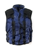 "Male Vest: Model 86 Type BLUE & BLACK Version - 1:18 Scale Modular MTF Accessory for 3-3/4"" Action Figures"