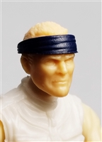 "Headgear: Headband BLUE Version - 1:18 Scale Modular MTF Accessory for 3-3/4"" Action Figures"