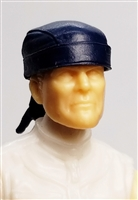 "Headgear: ""Do-Rag"" Head Cover BLUE Version - 1:18 Scale Modular MTF Accessory for 3-3/4"" Action Figures"