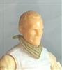 "Headgear: Standard Neck Scarf TAN Version - 1:18 Scale Modular MTF Accessory for 3-3/4"" Action Figures"