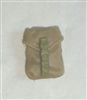 "Pocket: Large Size TAN & Tan Version - 1:18 Scale Modular MTF Accessory for 3-3/4"" Action Figures"