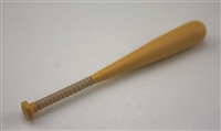 Baseball Bat: Wood color with TAN handle grip - 1:18 Scale Weapon Accessory for 3 3/4 Inch Action Figures