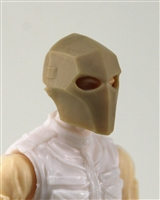 "Armor Mask: TAN Version - 1:18 Scale Modular MTF Accessory for 3-3/4"" Action Figures"