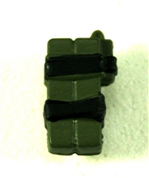 C4 Explosive Bundle: Green with Black Tape Version - 1:18 Scale MTF Accessory for 3 3/4 Inch Action Figures