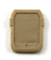 Smartpad / Computer Tablet: TAN Version - 1:18 Scale MTF Accessory for 3 3/4 Inch Action Figures