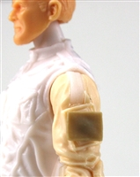 "Blank ""Smooth"" Modular Panel: Tan Version - 1:18 Scale MTF Accessory for 3 3/4 Inch Action Figures"