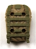 "Backpack: Modular Backpack TAN & TAN Version - 1:18 Scale Modular MTF Accessory for 3-3/4"" Action Figures"