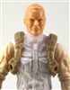 "Male Vest: Shoulder Rig TAN Version - 1:18 Scale Modular MTF Accessory for 3-3/4"" Action Figures"