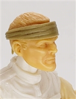 "Headgear: Headband TAN Version - 1:18 Scale Modular MTF Accessory for 3-3/4"" Action Figures"