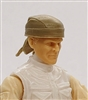 "Headgear: ""Do-Rag"" Head Cover TAN Version - 1:18 Scale Modular MTF Accessory for 3-3/4"" Action Figures"