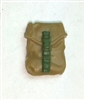 "Pocket: Large Size DARK TAN & Green Version - 1:18 Scale Modular MTF Accessory for 3-3/4"" Action Figures"