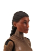 "Female Head: ""Hera"" Tan Skin Tone with Brown French Braid - 1:18 Scale MTF Valkyries Accessory for 3-3/4"" Action Figures"