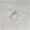 "Headgear: Helmet Plug WHITE Version - 1:18 Scale Modular MTF Accessory for 3-3/4"" Action Figures"