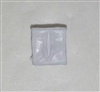 "Ammo Pouch: Empty WHITE Version - 1:18 Scale Modular MTF Accessory for 3-3/4"" Action Figures"