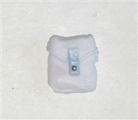 "Pocket: Small Size WHITE with Light Blue Version - 1:18 Scale Modular MTF Accessory for 3-3/4"" Action Figures"