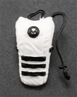 "Camel Hydration Pack: WHITE Version - 1:18 Scale Modular MTF Accessory for 3-3/4"" Action Figures"