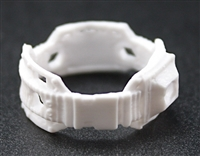 "Steady Cam Gun: Steady Cam Support Belt WHITE Version - 1:18 Scale Modular MTF Accessory for 3-3/4"" Action Figures"
