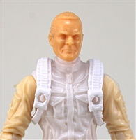 "Steady Cam Gun: Steady Cam Harness WHITE Version - 1:18 Scale Modular MTF Accessory for 3-3/4"" Action Figures"