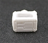 "MOUNT for Ammo Belt: WHITE Version - 1:18 Scale Modular MTF Accessory for 3-3/4"" Action Figures"