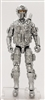"DELUXE MTF Male Trooper SILVER ""Kronos-Ops"" Version - 1:18 Scale Marauder Task Force Action Figure"
